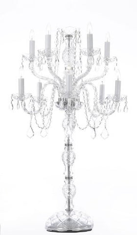 Set Of 5 Wedding Candelabras Candelabra Centerpiece Centerpieces - Great For Special Events - Set Of 5 - G46-2154/5+5-Set Of 5