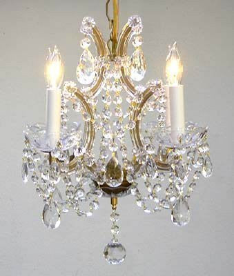 "Maria Theresa Crystal Chandelier H15"" X W15"" - A83-1531/4"