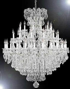 Chandelier Crystal Chandeliers Lighting 52X60 - A83-Silver/2756/36+1