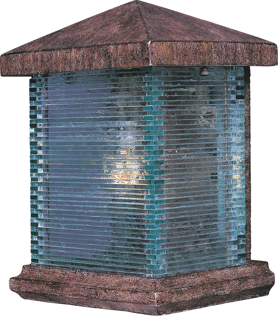 Triumph VX 1-Light Outdoor Wall Lantern Earth Tone - C157-48732CLET