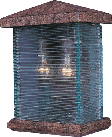 Triumph VX 2-Light Outdoor Wall Lantern Earth Tone - C157-48734CLET