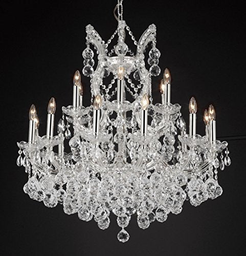 "Maria Theresa Empress Crystal(Tm) Chandelier Lighting H 28"" W 30"" - Cjd-B6/Cs/2181/30"