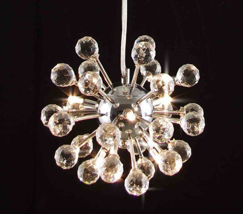 Modern Contemporary Crystal Chandelier Lighting Light Fixture - G7-983/6