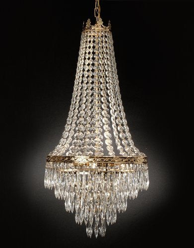 French Empire Crystal Chandelier Lighting Empress Crystal