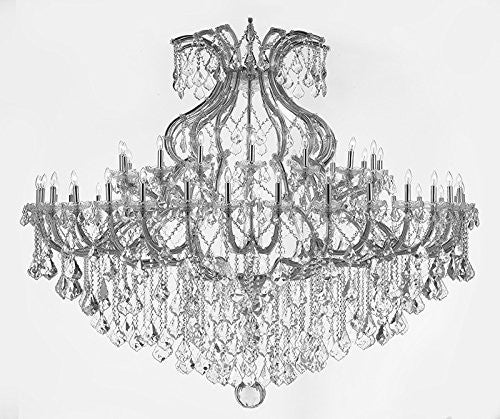 Maria Theresa Crystal Chandelier Trimmed With Spectra Tm Crystal - Reliable Crystal Quality By Swarovski - Cjd-Cs/2181/72Sw