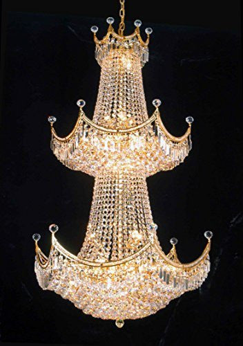 "French Empire Empress Crystal(Tm) Chandelier Lighting H 66"" W 36"" - Cjd-Cg/2179/36"