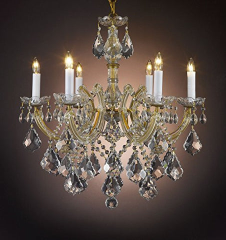 "Maria Theresa Chandelier Crystal Lighting Chandeliers H 20"" W 22"" - J10-B7/26066/6"