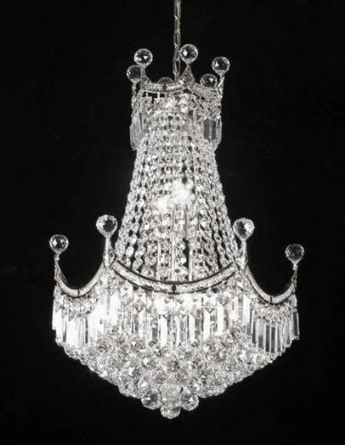 "French Empire Empress Crystal(Tm) Chandelier Lighting H 28"" W 20"" - Cjd-Cs/2179/20"