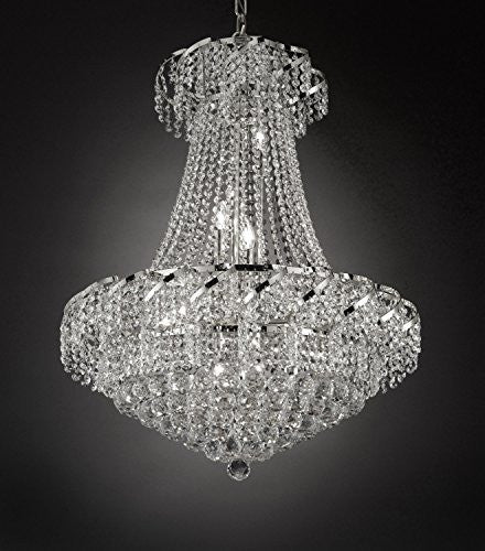 "French Empire Empress Crystal(Tm) Chandelier Lighting H 32"" W 26"" - Cjd-Cs/2173/26"