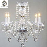 Swarovski Crystal Trimmed Chandelier Chandelier Lighting W/ 40Mm Crystal Balls - G46-B6/275/4Sw