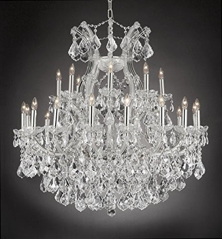 "Maria Theresa Empress Crystal(Tm) Chandelier Lighting H 36"" W 36"" - Cjd-Cs/2181/36"