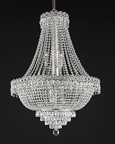"French Empire Empress Crystal(Tm) Chandelier Lighting H 30"" W 24"" - Cjd-B39/Cs/2176/24"
