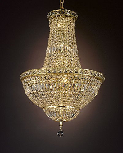 "French Empire Empress Crystal(Tm) Chandelier Lighting H 31"" W 22"" - Cjd-Cg/2174/22"