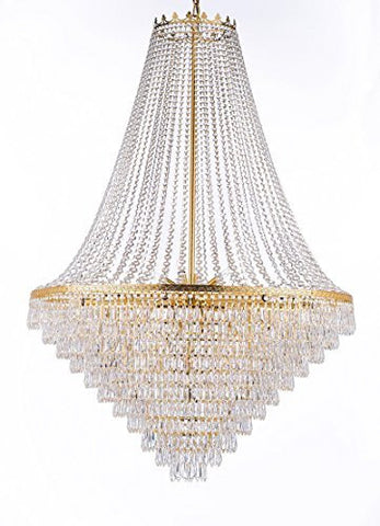 French Empire Crystal Chandelier Lighting Empress Crystal Tm H50 X W40 Perfect For An Entryway Or Foyer A93 864 18