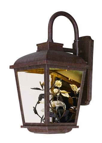 Arbor LED 1-Light Outdoor Wall Lantern Adobe - C157-53502CLAE