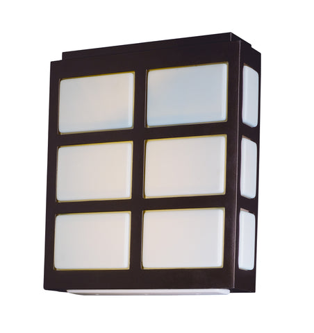 Packs LED Outdoor Wall Sconce Metallic Bronze - C157-53592WTMB