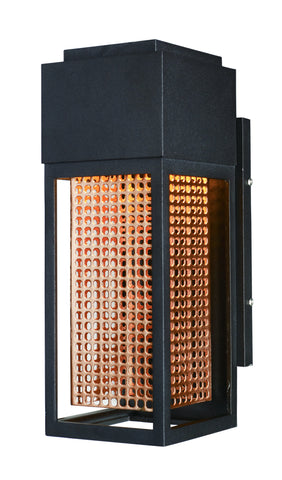 Townhouse LED Outdoor Wall Sconce Galaxy Bronze / Rose Gold - C157-53597GBZRG