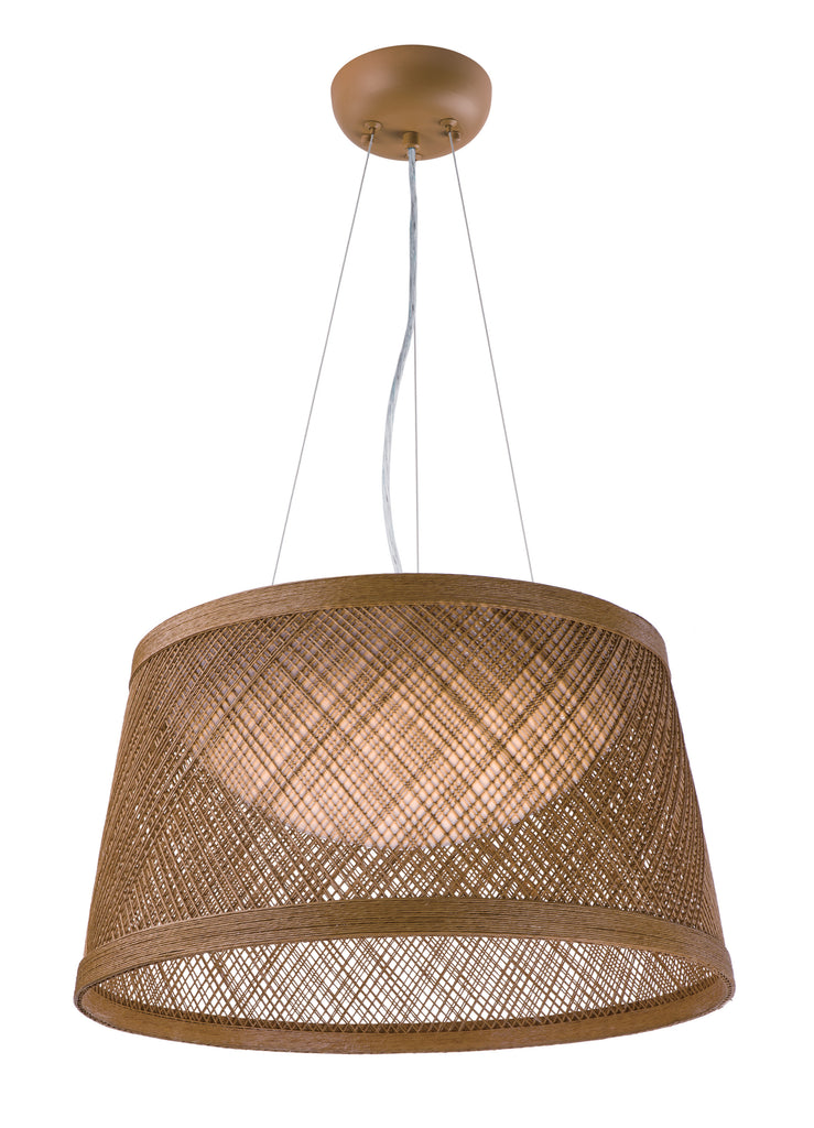 Bahama 1-Light Pendant Natural - C157-54372NA