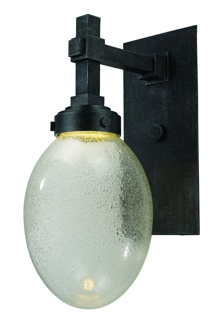 Pike Place LED 1-Light Outdoor Wall Lantern Iron Ore - C157-54384PLIO