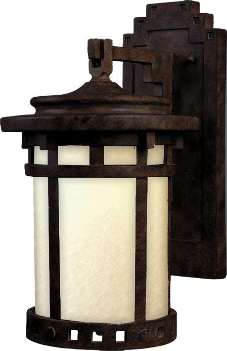 Santa Barbara LED 1-Light Outdoor Wall Lantern Sienna - C157-55034MOSE