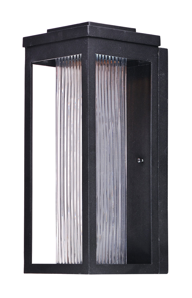 Salon LED 1-Light Outdoor Wall Black - C157-55904CRBK