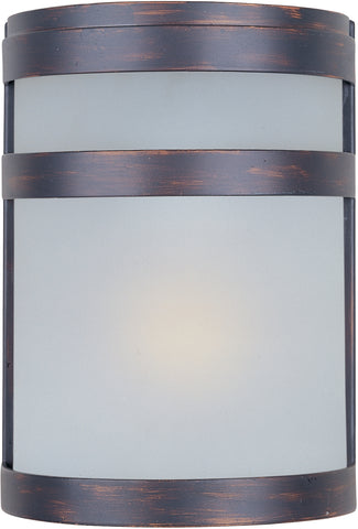 Arc LED 1-Light Outdoor Wall Lantern Oil Rubbed Bronze - C157-56005FTOI