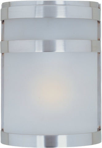 Arc LED 1-Light Outdoor Wall Lantern Stainless Steel - C157-56005FTSST