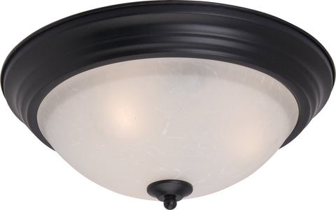 Essentials 2-Light Flush Mount Black - C157-5841ICBK