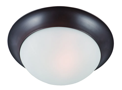 Essentials 1-Light Flush Mount Oil Rubbed Bronze - C157-5850FTOI