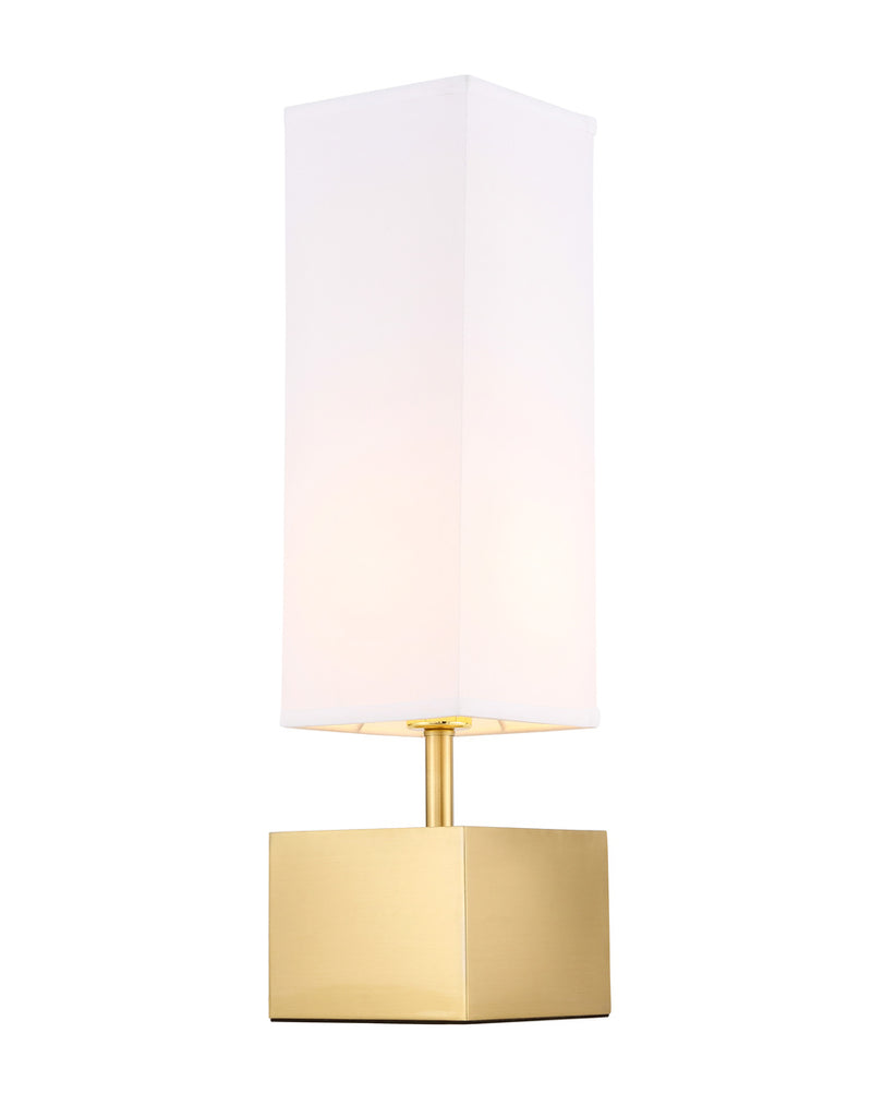 ZC121-TL3049BR - Regency Decor: Niki 1 light Brass Table Lamp