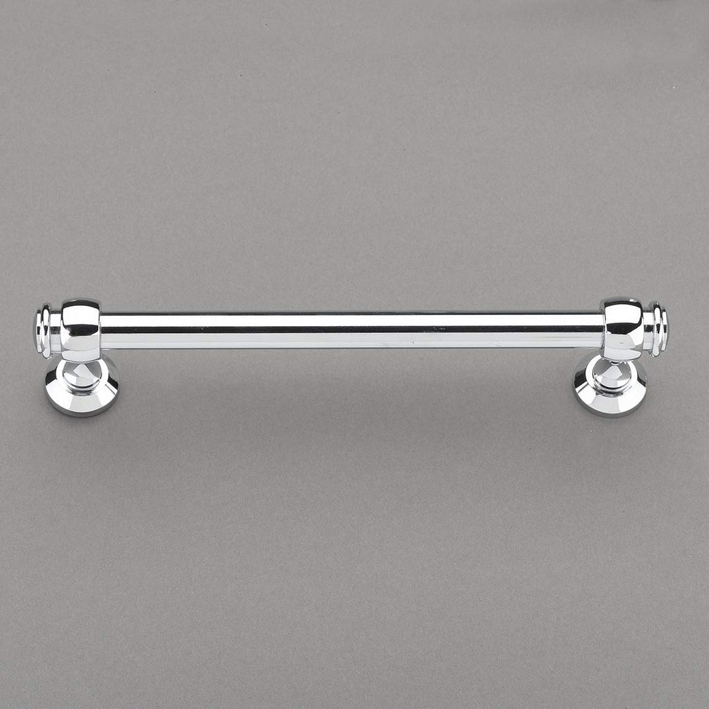"Louvre Collection 6"" Pull Handle Hardware Satin Nickel Finish Pulls Great for Kitchen or Bathroom Cabinets, Drawers, Dressers, and More! - 	P100-12/4550"