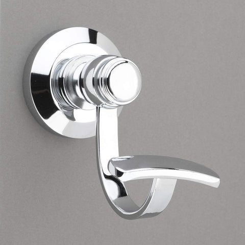 Louvre Collection Polished Chrome Towel Hook/Robe Hook - Good for Kitchen, Bathroom, Bedroom, Or Closet Hardware - 	P100-12/4549