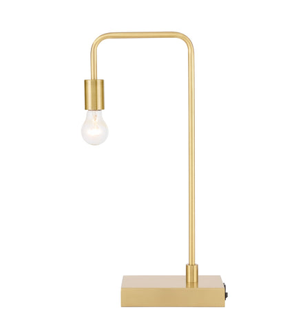 ZC121-TL3048BR - Regency Decor: Marceline 1 light Brass Table Lamp