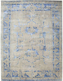 Handknotted Wool Artistry Rug Area Rug 8 X 10 - J10-IN-400-8X10