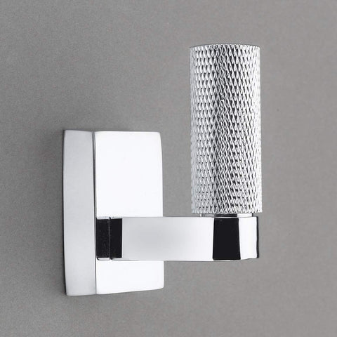 elle Knurled Collection Polished Chrome Towel Hook/Robe Hook - Good for Kitchen, Bathroom, Bedroom, Or Closet Hardware - P100-12/4556