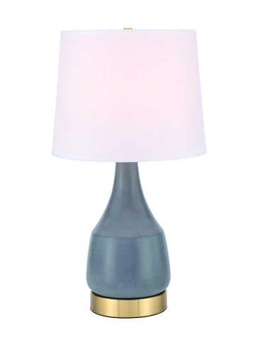 ZC121-TL3052GR - Regency Decor: Reverie 1 light Gray Table Lamp