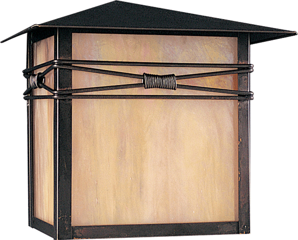 Taliesin 1-Light Outdoor Wall Lantern Burnished - C157-8047IRBU