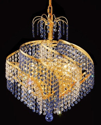C121-GOLD/8053/1817 Spiral CollectionEmpire Style CHANDELIER Chandeliers, Crystal Chandelier, Crystal Chandeliers, Lighting