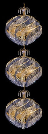 C121-GOLD/8053/2678 Spiral CollectionEmpire Style CHANDELIER Chandeliers, Crystal Chandelier, Crystal Chandeliers, Lighting