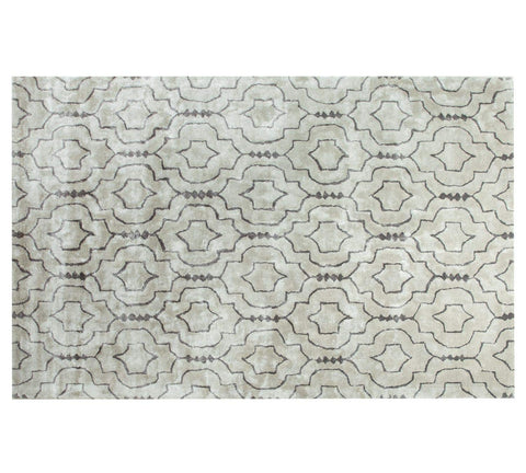 Medallion Rug Medallion Handtufted Area Rug 5 X 7 - J10-IN-404-5X7