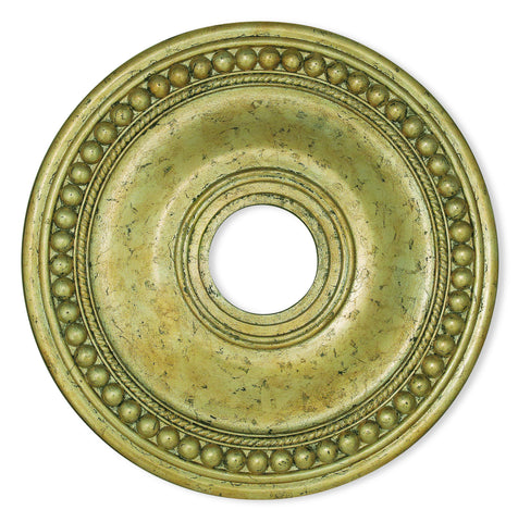 Livex Wingate Winter Gold Ceiling Medallion - C185-82074-28