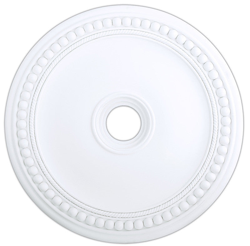 Livex Wingate White Ceiling Medallion - C185-82076-03