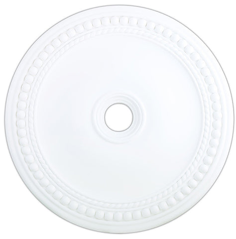 Livex Wingate White Ceiling Medallion - C185-82077-03
