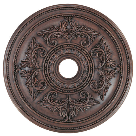 Livex Ceiling Medallions Imperial Bronze Ceiling Medallion - C185-8210-58