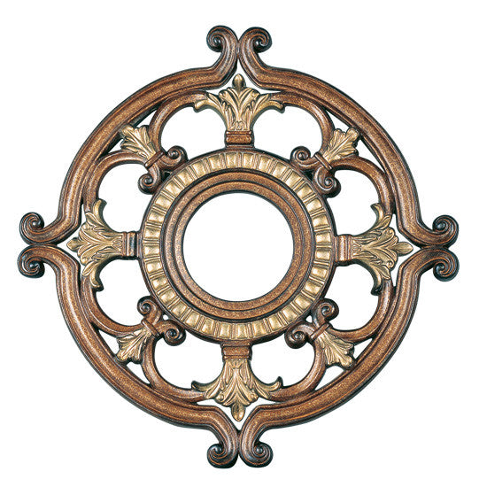 Livex Ceiling Medallions Venetian Patina Ceiling Medallion - C185-8218-57