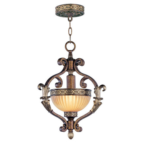 Livex Seville 1 Light PBZ Hall/Foyer - C185-8530-64