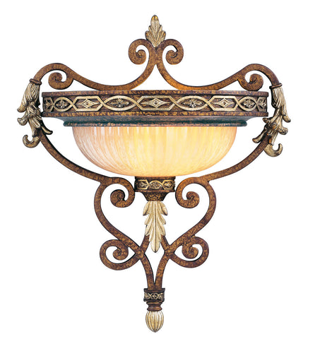 Livex Seville 1 Light PBZ Wall Sconce - C185-8531-64