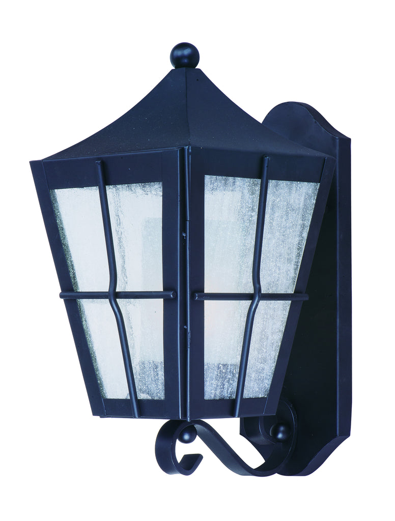 Revere 1-Light Outdoor Wall Lantern Black - C157-85332CDFTBK