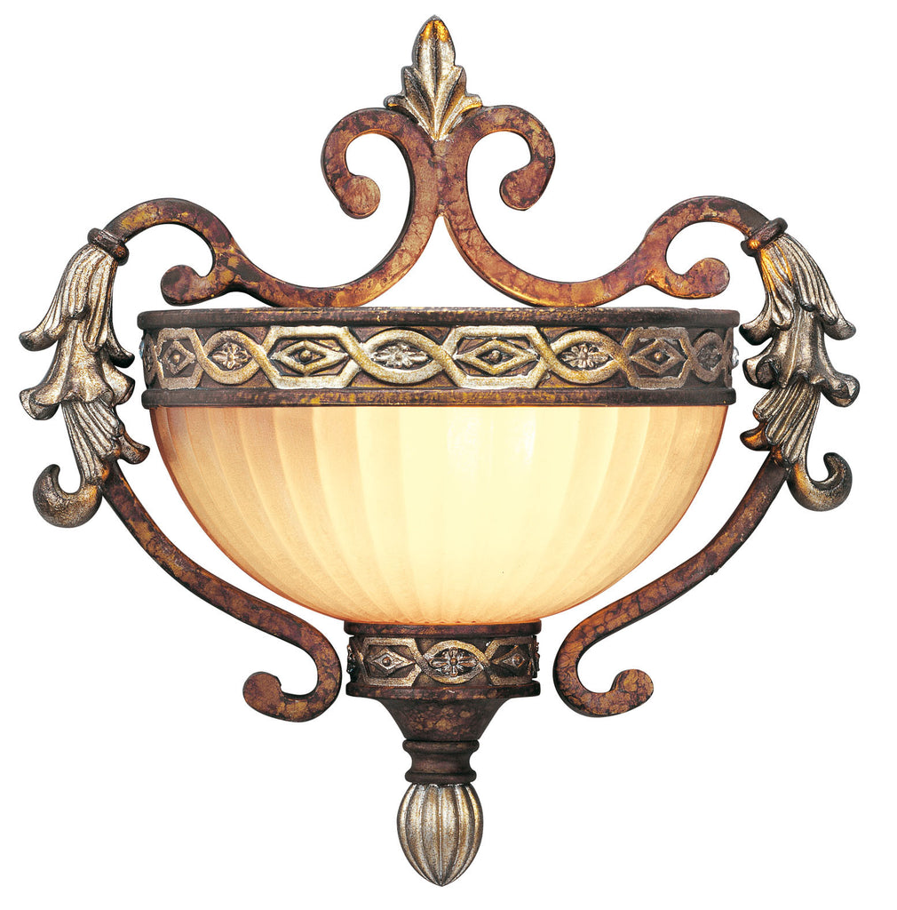 Livex Seville 1 Light PBZ Wall Sconce - C185-8540-64