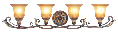 Livex Villa Verona 4 Light VBZ Bath - C185-8554-63